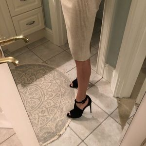 Endlessly Stylish Burberry Suede Stilettos